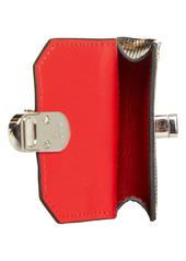Christian Louboutin Elisa Animal Print Leather AirPod Pro Case
