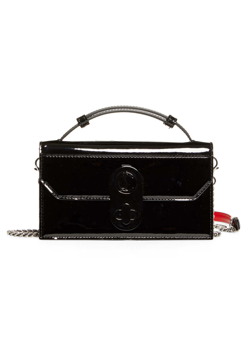 Christian Louboutin Elisa Patent Leather Baguette Bag