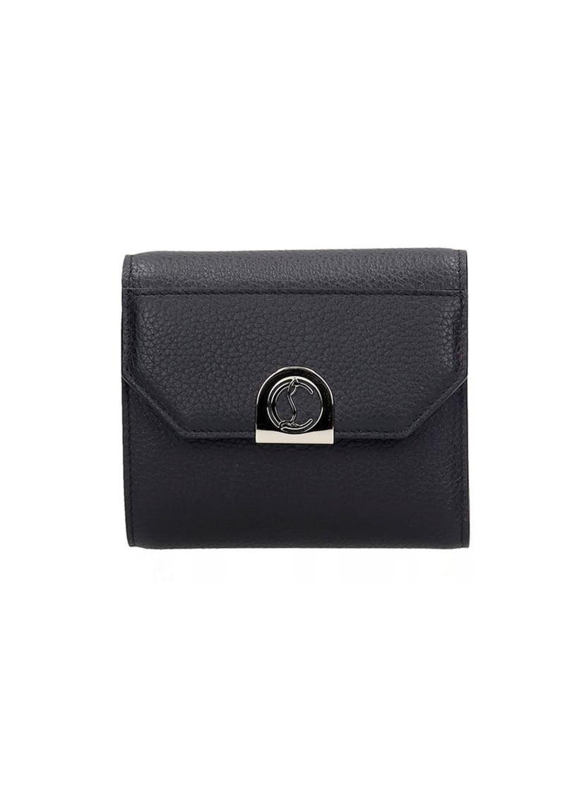 Christian Louboutin Elisa Wallet In Black Leather