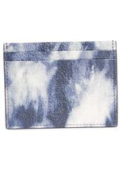 Christian Louboutin Kios Tie Dye Leather Card Case