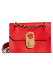 Christian Louboutin Large Elisa Calfskin Leather Shoulder Bag