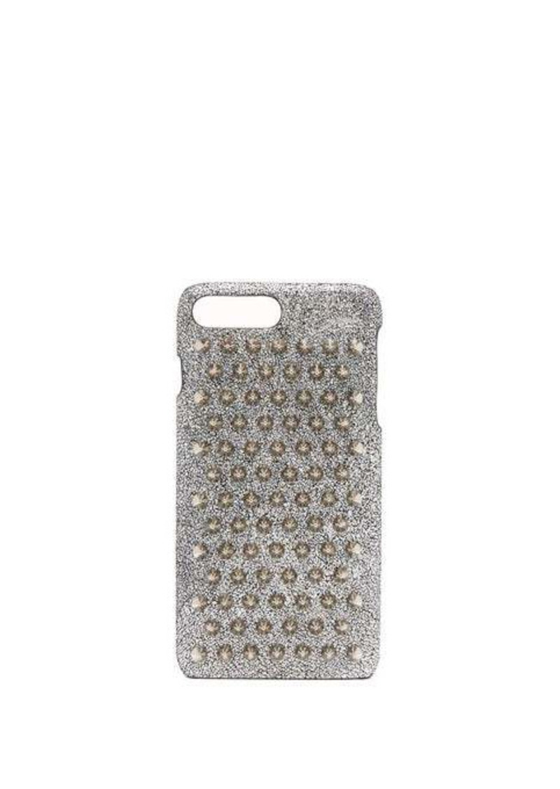 Christian Louboutin Loubiphone metallic leather iPhone® 7+ & 8+ case