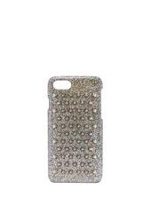 Christian Louboutin Loubiphone metallic leather iPhone® 7 & 8 case