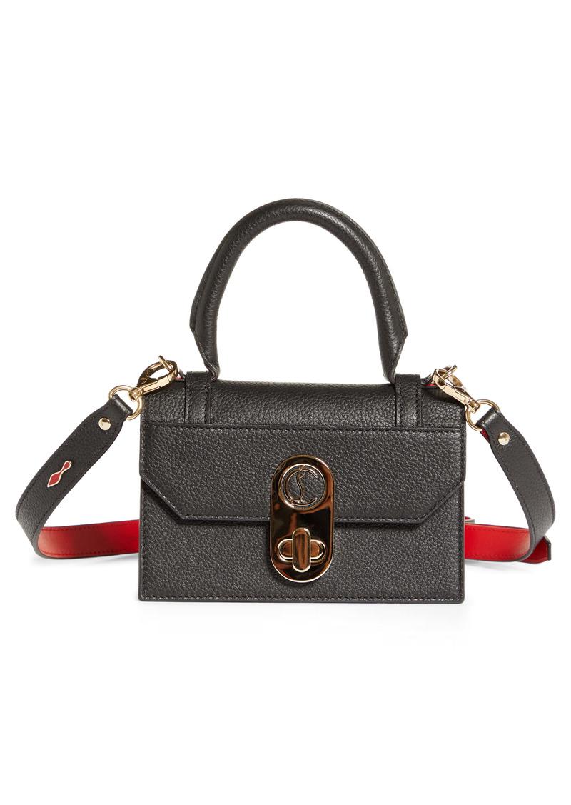 Christian Louboutin Mini Elisa Leather Top Handle Bag