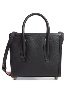 Christian Louboutin Mini Paloma Calfskin Leather Satchel - Black