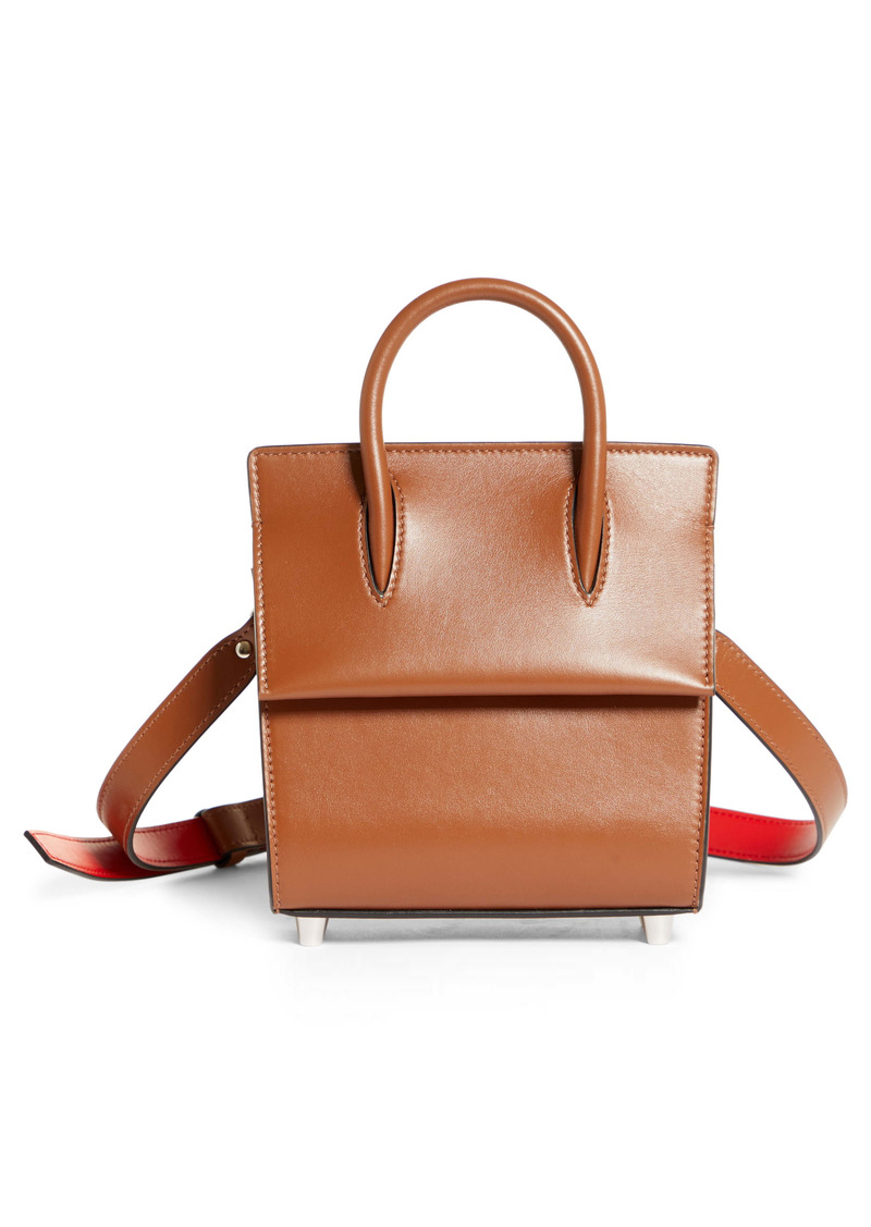 Christian Louboutin Mini Paloma Leather Satchel