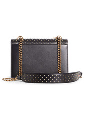 Christian Louboutin Small Elisa Studded Calfskin Leather Shoulder Bag