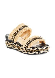Christian Louboutin Voltinoudou Wedge Slide Sandal (Women)