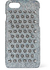 Christian Louboutin Loubiphone Glittered Leather Iphone 7 And 8 Case