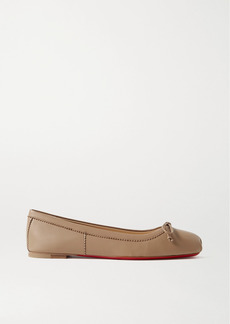 Christian Louboutin Mamadrague Leather Ballet Flats