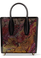 Christian Louboutin Paloma Small Embellished Printed Leather Tote