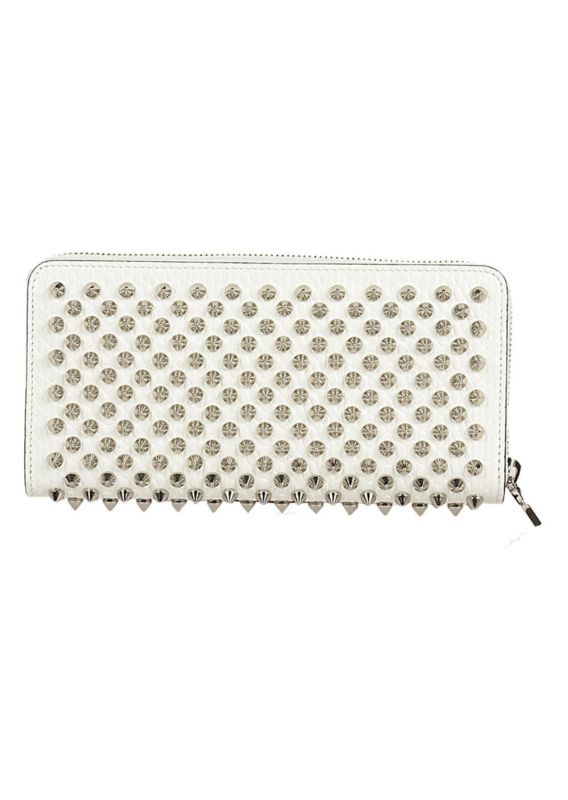 Christian Louboutin W Panettone Wallet Nv Calf Jurassic/spikes