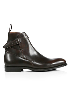 Church's Bletsoe Buckle-Strap Leather Boots