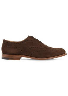Church's Burwood 2 Suede Lace-up Shoes