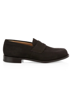 Church's Dawley Suede Penny Loafers