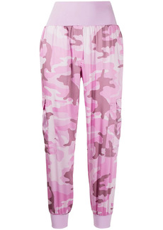 Cinq a Sept Giles camouflage-print joggers