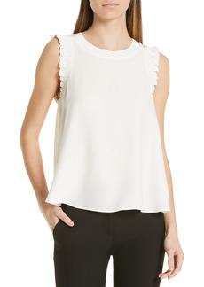 Women's Cinq A Sept Lenore Silk Blouse
