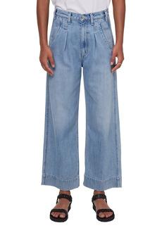 Citizens of Humanity Elena High Waist Crop Wide Leg Jeans (Nautika)