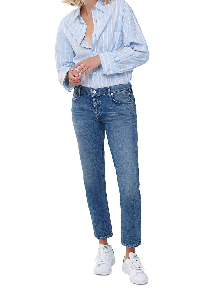 Citizens of Humanity Emerson Ankle Slim Fit Boyfriend Jeans (Tinker)