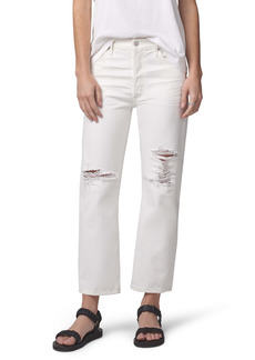 Citizens of Humanity Emery High Waist Relaxed Crop Jeans (Moonstone)
