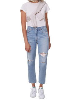 Citizens of Humanity Marlee Nonstretch High Waist Distressed Relaxed Tapered Jeans (Moondust)