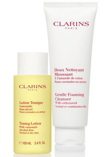 Clarins 2-Pc. Cleansing Sensations Set For Normal Or Combination Skin