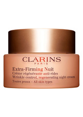 Clarins Extra-Firming Wrinkle Control Regenerating Night Cream for All Skin Types