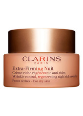 Clarins Extra-Firming Wrinkle Control Regenerating Night Cream for Dry skin