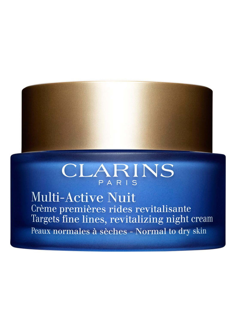 Clarins Multi-Active Night Cream for Normal to Dry Skin Types