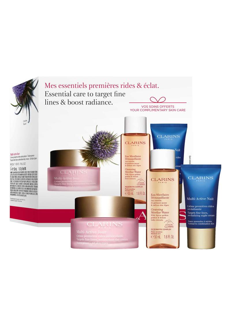 Clarins Multi-Active Starter Set (USD $80 Value)