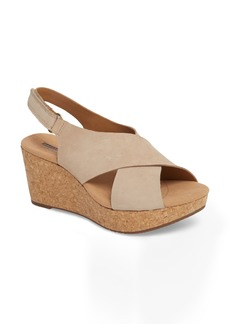 Clarks® Annadel Eirwyn Wedge Sandal (Women)