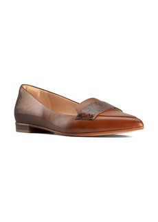 Clarks® Laina 15 Pointed Toe Loafer (Women)