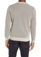 Club Monaco Men's Honeycomb Crewneck Sweater