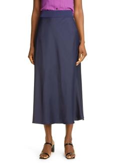 Club Monaco Rib Trim Slip Skirt