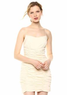 C/Meo Collective Women's Ended UP HERE Sleeveless Short Mini Slip Dress  M