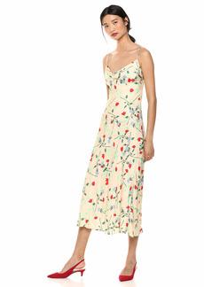 C/Meo Collective Women's Sleeveless MIDI Slip Dress  L