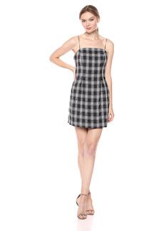 C/Meo Collective Women's Solace Spaghetti Strap Sheath Mini Dress  S