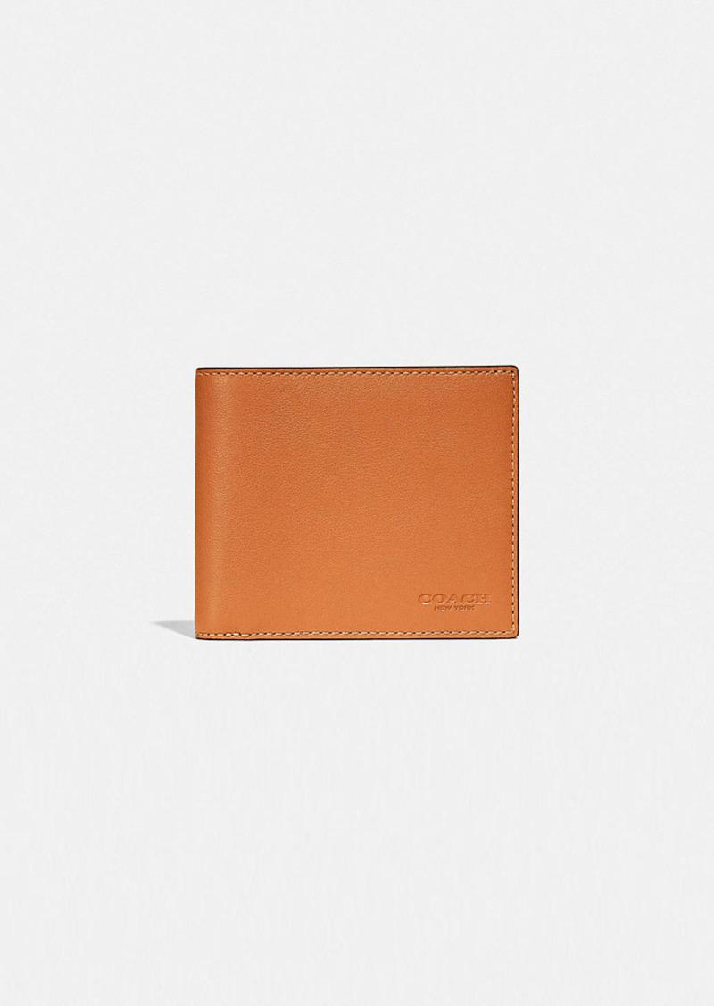 Coach 3-in-1 wallet in colorblock