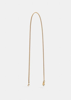 Coach chain strap