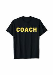 Coach - Yellow T-Shirt
