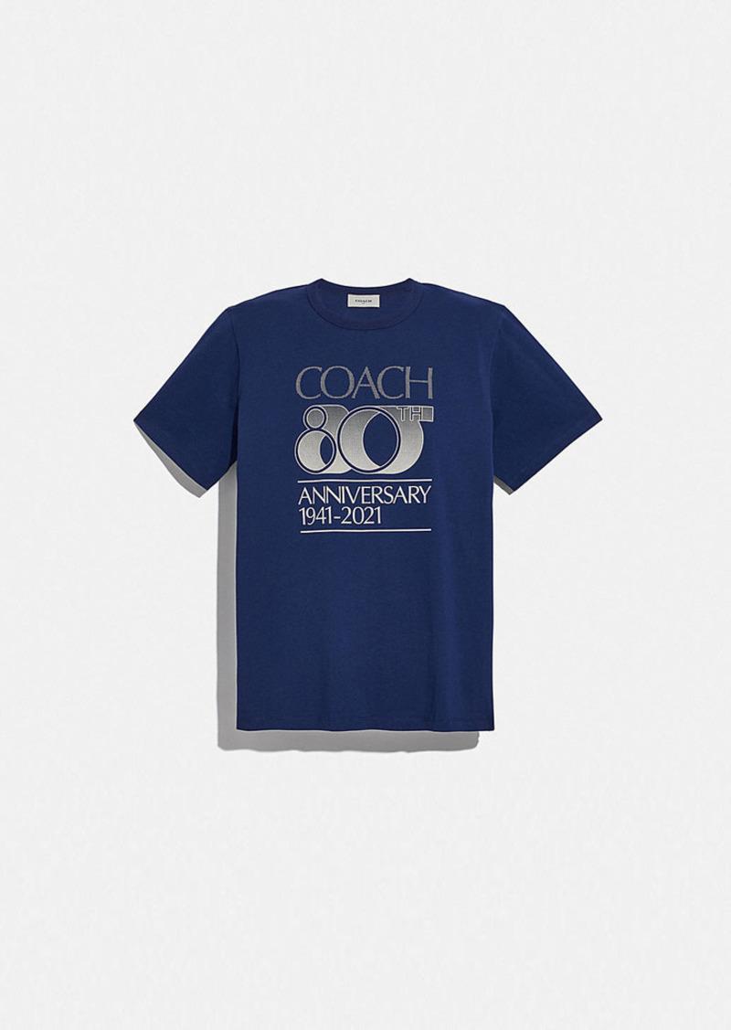 coach 80th anniversary t-shirt