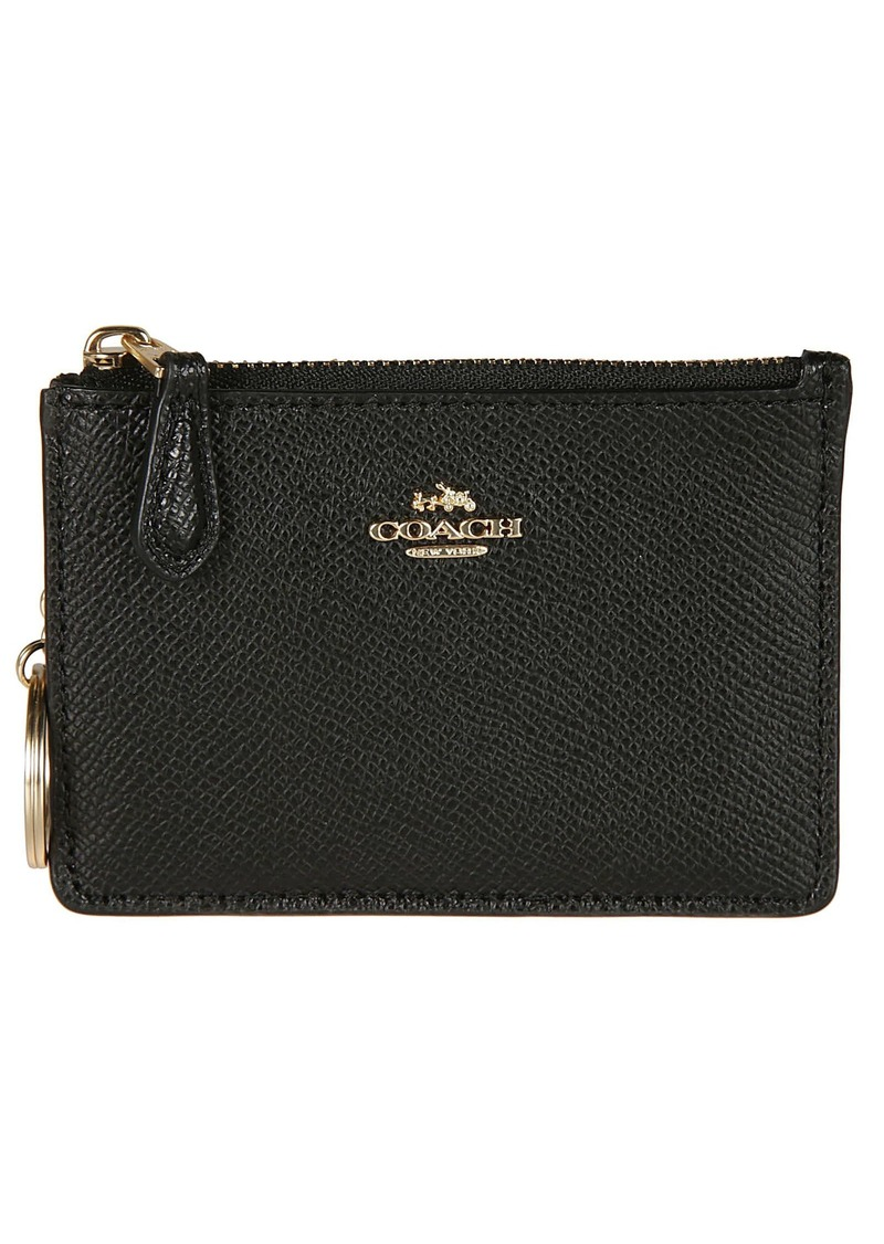 Coach Logo Plaque Wallet