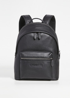 Coach New York Charter Backpack in Refined Pebbled Leather
