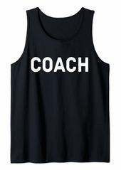 Coach Tank Top