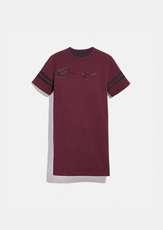coach x champion reversible t-shirt dress
