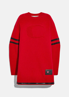 coach x champion sweater dress