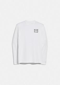 coach x jean-michel basquiat long sleeve t-shirt