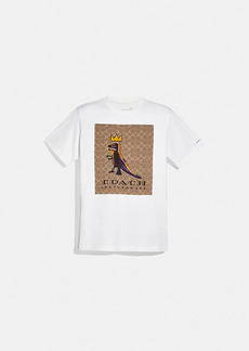coach x jean-michel basquiat t-shirt