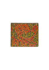 Coach Mickey Mouse X Keith Haring Double Billfold Wallet