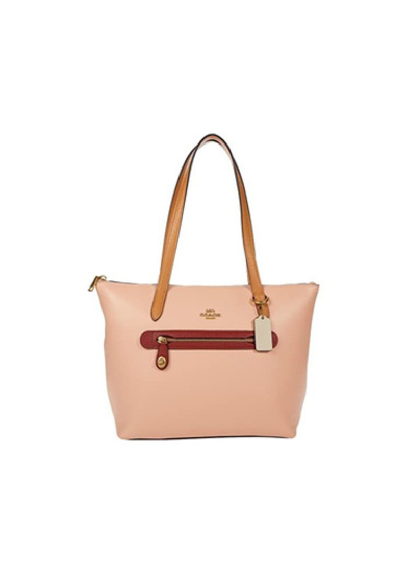 Coach Color Block Taylor Tote